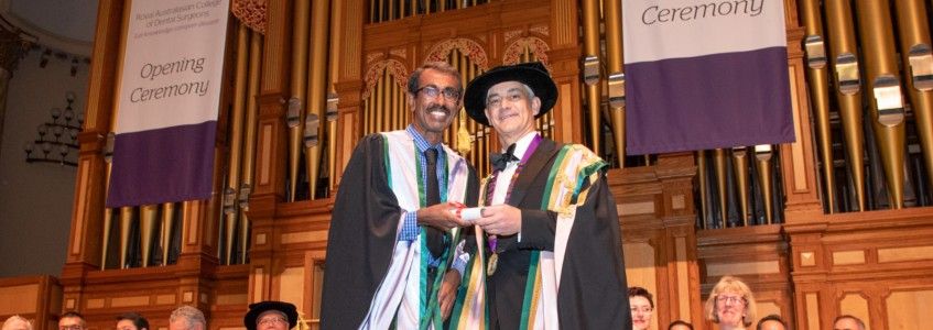 Wuchopperen Dentist receives highest accolade for dental surgeons