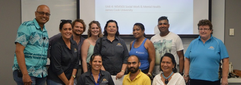 Social and Emotional Wellbeing Session at JCU
